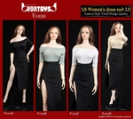 Women's Dress Suit 2.0 - Four Color Options - Vor Toys 1/6 Scale Accessory