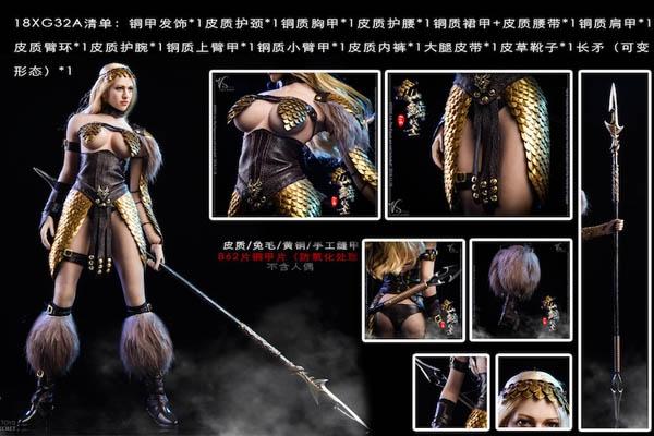 VStoys 1//6 Dragon Female Warrior armor Clothes set w// weapon for Phicen ❶USA❶
