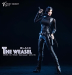 Black Weasel with Head - VS Toys 1/6 Scale Accessory Set
