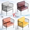 Arm Chair - Four Color Versions - VS Toys 1/6 Scale Accessory Set
