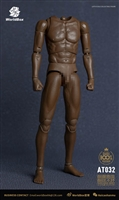African American Universal Body - World Box 1/6 Scale Figure