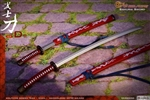 Red Katana Only - Wolf King 1/6 Scale Accessory