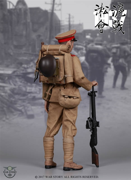 Taisho Gunner Japanese Army War Story 1 6 Scale Figure