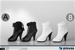 Ankle Boots with Fur - Two Color Options - ZY Toys 1/6 Scale Accessory