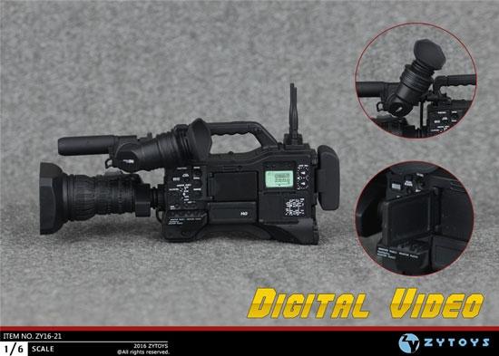 ZY TOYS ZY16-20 1//6 Digital Camera Sets Model Toy