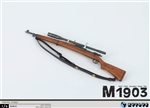 M1903 Sniper Rifle - World War I - ZY 1/6 Scale Accessory