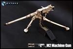 M2 Machine Gun - Camouflage - ZY 1/6 Scale Accessory
