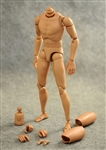 Narrow Shouldered Action Figure Body - ZY Toys 1/6 Scale