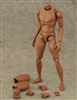 Wide Shouldered Male Figure Body - African Version - ZY Toys 1/6 Scale