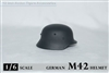 German M42 No Insignia Helmet - ZY Toys 1/6 Scale