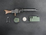 MG08 15 Light Machine Gun - World War I - ZY 1/6 Scale Accessory