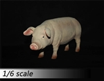 Pig Model - Version A in Pink - ZY 1/6 Scale Accessory