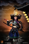Female Samurai - RIN - Black Version - i8-001 1/6 Scale Figure